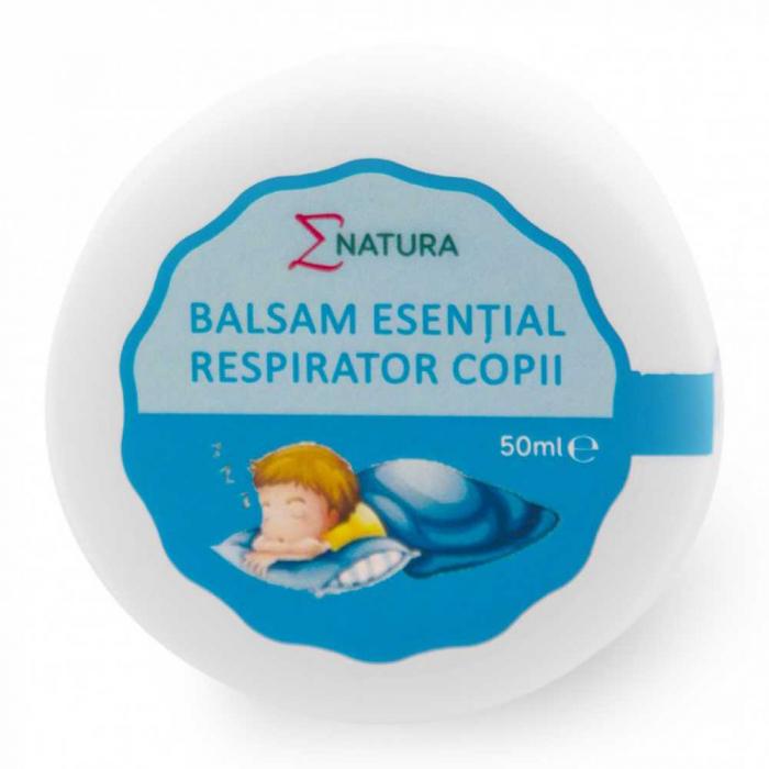Balsam esențial respirator copii, 50 ml - ENATURA [0]