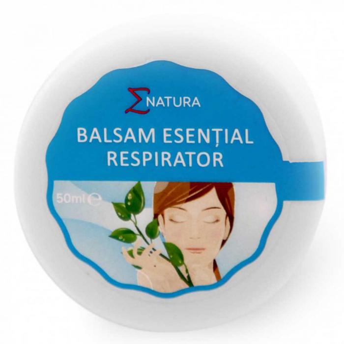 Balsam esential respirator adulti 50ml, ENatura [0]