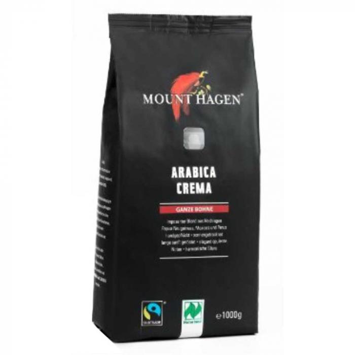 Cafea Bio Arabica Boabe Mount Hagen, 1kg [0]