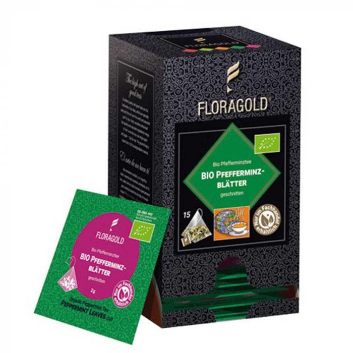 Ceai de Menta BIO Floragold, 15 piramide [0]