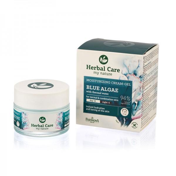 Crema de fata hidratanta cu Alge albastre si Apa termala HERBAL CARE [0]