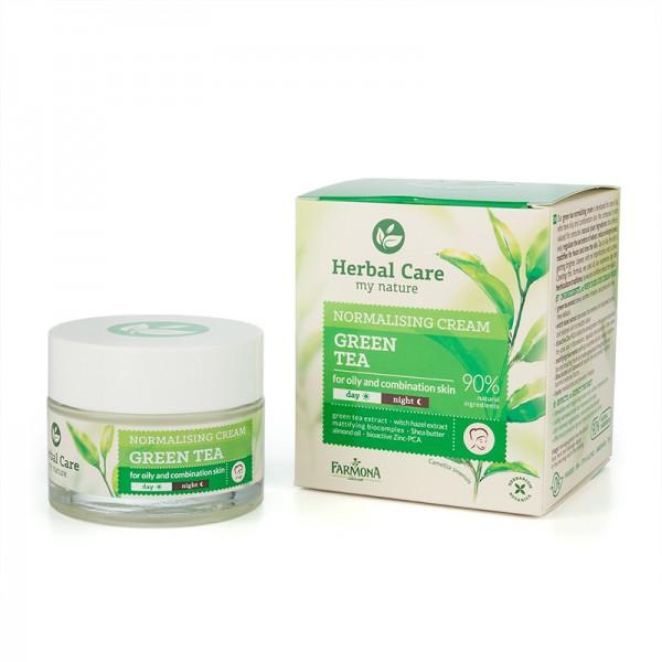 Crema de fata normalizatoare cu Ceai verde [0]
