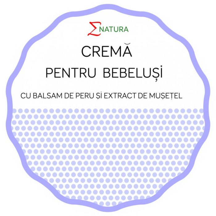 Crema pentru bebeluși cu Balsam de Peru si extract de mușețel - 50ml - ENATURA [0]