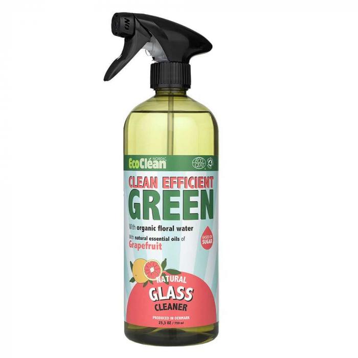 Detergent BIO pentru Geamuri Grapefruit Eco Clean Nordic, 750 ml [0]
