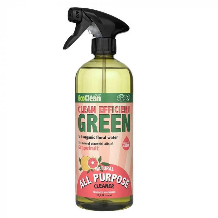 Detergent BIO Universal Grapefruit Eco Clean Nordic, 750 ml [0]
