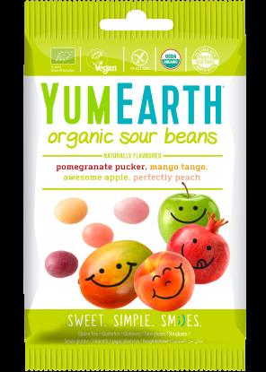 Drajeuri Organice  Acrisoare YumEarth 50g [0]