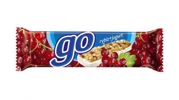 Fit baton muzli fara gluten cu strugurei si iaurt, 23g [0]