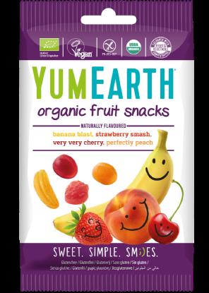 Jeleuri Organice de Fructe YumEarth 50g [0]