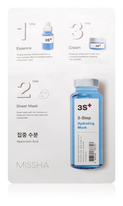 Masca hidratanta în 3 pasi Missha 25g [0]