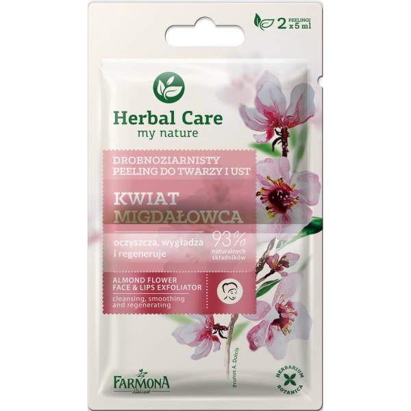 Peeling pentru față și buze - Flori de migdale HERBAL CARE [0]