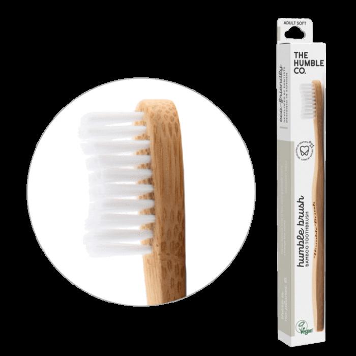 Periuta de dinti pentru adulti  Soft- The Humble Brush [0]