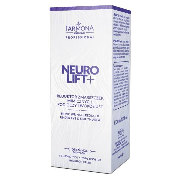"Reductor de riduri de expresie pentru zona ochilor si gura ZI / NOAPTE ""NEURO LIFT +"" [0]"