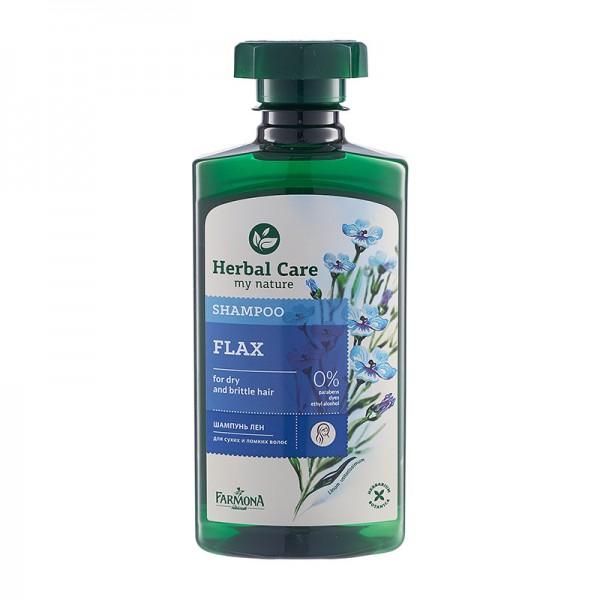 Șampon cu extract de Semințe de In – pentru păr uscat, fragil [0]