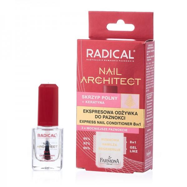 Tratament rapid 8 în 1 pentru unghii Radical Nail Architect [0]