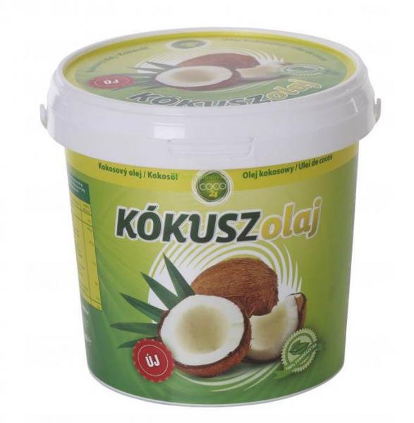 Ulei de Cocos alimentar nehidrogenizat 1L, CoCo24 [0]