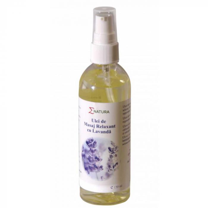 Ulei de masaj relaxant cu lavanda, 150ml - ENATURA [0]
