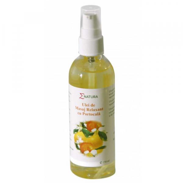 Ulei de masaj relaxant cu portocale, 150ml - ENATURA [0]