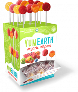 Acadele organice  asortate YumEarth 100buc [0]
