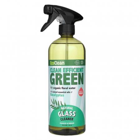 Detergent BIO pentru Geamuri Eucalipt Eco Clean Nordic, 750 ml