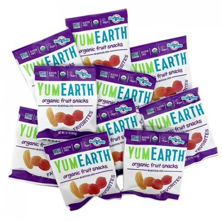 Jeleuri Bio de Fructe, Vegane, Fara Gluten YumEarth Set 10x19.8g [1]
