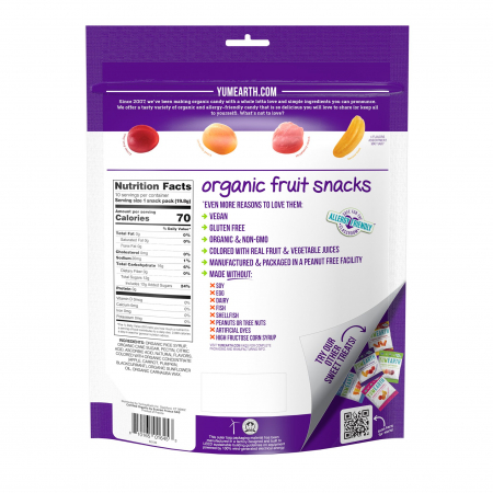 Jeleuri Bio de Fructe, Vegane, Fara Gluten YumEarth Set 10x19.8g [2]
