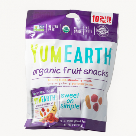 Jeleuri Bio de Fructe, Vegane, Fara Gluten YumEarth Set 10x19.8g [0]