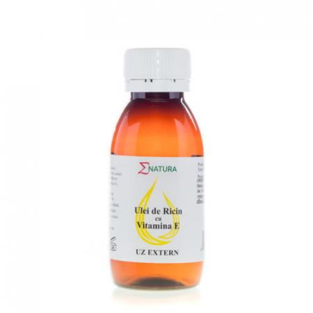 Ulei de ricin cu Vitamina E 50ml Enatura [0]