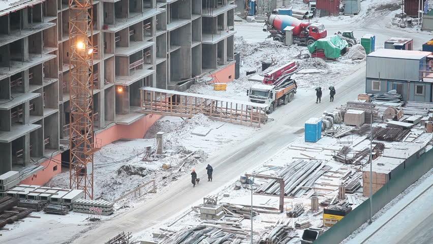 Siguranța în construcții pe timp de iarnă