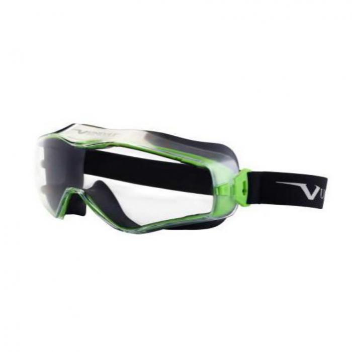 Ochelari de protectie Univet 6x3000000, tip goggles, cu lentile transparente 0