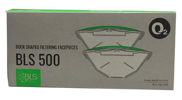 Semimasca de protectie fara supapa FFP2 BLS 500, pliata [2]