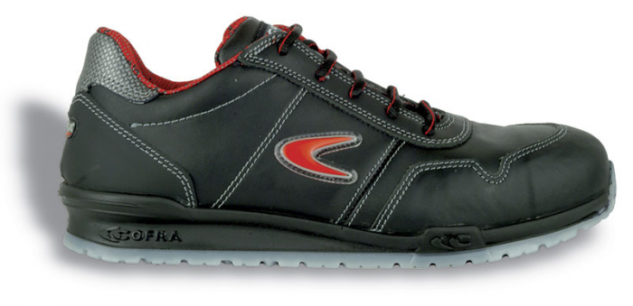 Pantofi de protectie Cofra ZATOPEK S3 SRC, cu bombeu din aluminiu si lamela [0]
