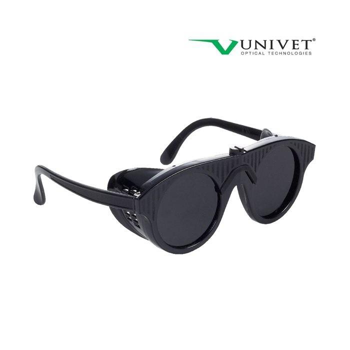 Ochelari de protectie sudura Univet WELD, cu lentile fumurii 0