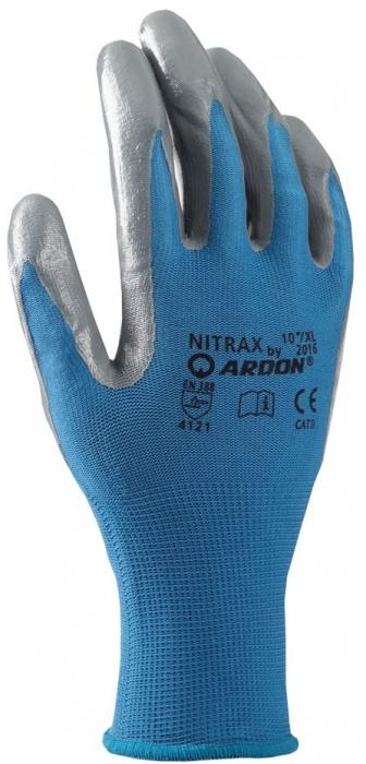 Manusi de protectie Ardon NITRAX, impregnate in nitril subtire, blist [0]