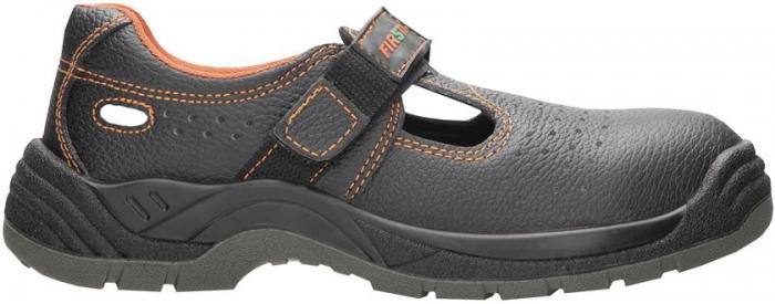 Sandale de protectie Ardon Firsty FIRSAN S1P, cu bombeu metalic si lamela 0