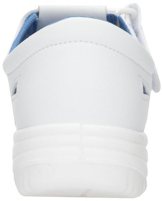 Sandale albe de protectie microfibra Ardon VOG S1, cu bombeu metalic 3