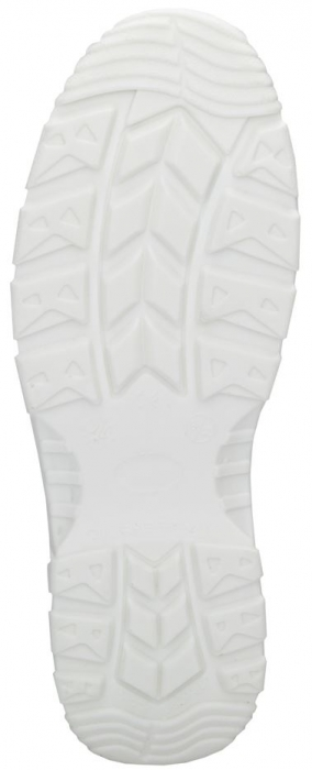 Pantofi albi de protectie microfibra Ardon FINN S2, cu bombeu metalic 4