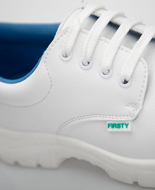 Pantofi albi de protectie microfibra Ardon FINN S2, cu bombeu metalic 1