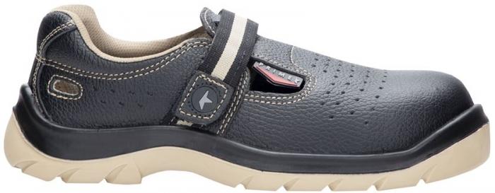 Sandale de protectie Ardon PRIME S1P, cu bombeu metalic si lamela 0