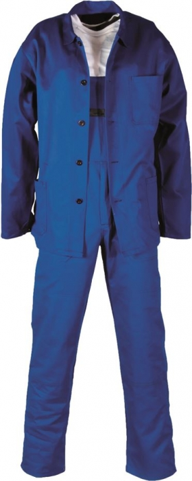 Costum salopeta cu pieptar Ardon KLASIK, 100% bumbac, 245gr/mp 0