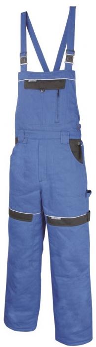 Pantaloni cu pieptar vatuiti de iarna Ardon COOL TREND, 100% bumbac, 260gr/mp 0