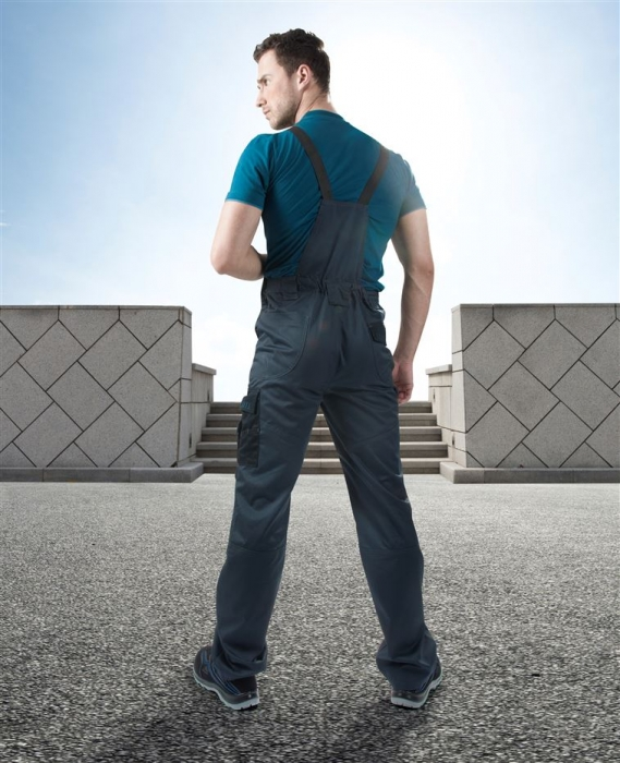 Pantaloni salopeta cu pieptar Ardon 4TECH, tercot 65/35, 240 gr/mp [2]