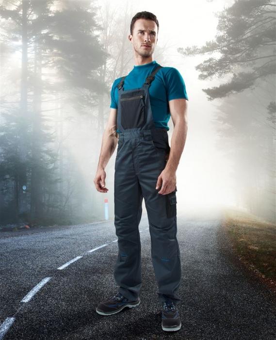 Pantaloni salopeta cu pieptar Ardon 4TECH, tercot 65/35, 240 gr/mp [3]