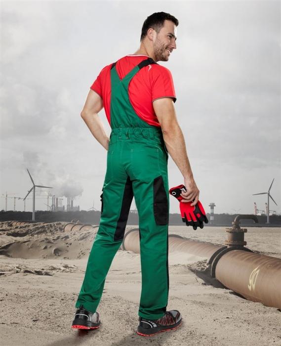 Pantaloni salopeta cu pieptar Ardon PRE100, tercot 65/35, 270gr/mp 2