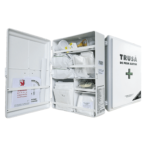 Trusa sanitara de prim ajutor fixa | prindere perete 0