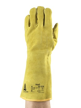 Manusi de protectie sudura Ansell ACTVARMR 43-216, piele spalt bovina, ata kevlar [0]