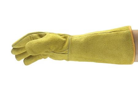 Manusi de protectie sudura Ansell ACTVARMR 43-216, piele spalt bovina, ata kevlar 3