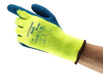 Manusi de protectie de iarna Ansell ACTIVARMR 80-400, impregnate in latex, 250°C 1