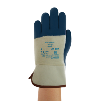 Manusi de protectie Ansell ACTIVARMR HYCRON 27-607, impregnate in nitril [0]