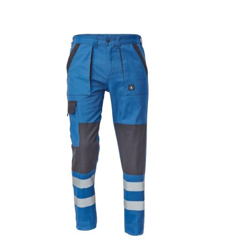 Pantaloni de lucru cu benzi reflectorizante Cerva MAX REFLEX NEO, 100% bumbac, 240 gr/mp [0]