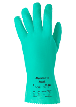 Manusi de protectie chimica Ansell ALPHATEC 39-122, impregnate in nitril [0]